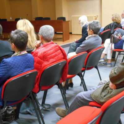 il pubblico in Sala Consiliare