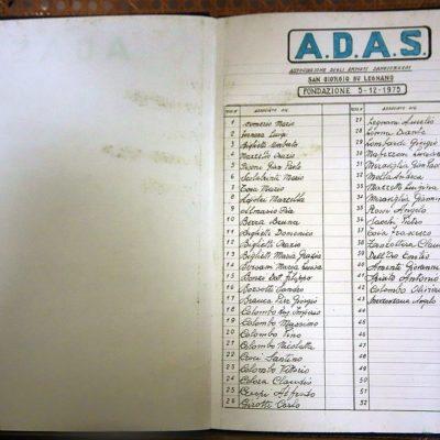 L'elenco dei soci fondatori