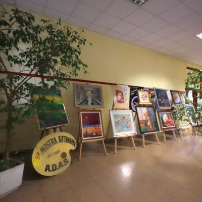 La prima parte della galleria dei quadri