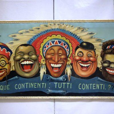 i 5 continenti contenti