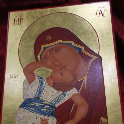una icona di Antonia Genoni