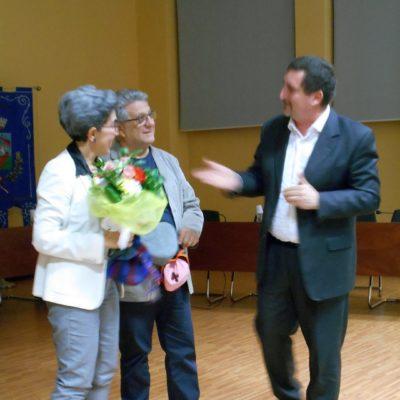 la premiazione della relatrice