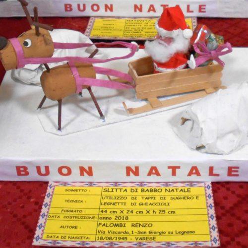 Renzo Palombi: la slitta di Babbi Natale