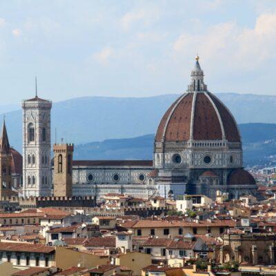 Cattedrale di Santa Maria del Fiore, Cupola del Brunelleschi e Campanile di Giotto, foto di Pasquale Campolo