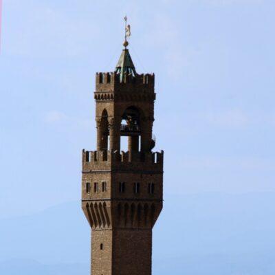 Campanile di Palazzo Vecchio in Piazza della Signoria, foto di Pasquale Campolo