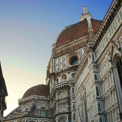 Cattedrale di Santa Maria del Fiore e parte della Cupola del Brunelleschi, foto di Pasquale Campolo
