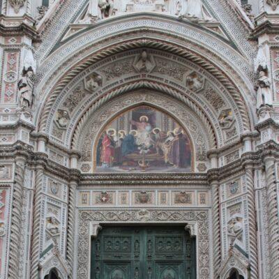 Portale centrale della Cattedrale di Santa Maria del Fiore, foto di Pasquale Campolo