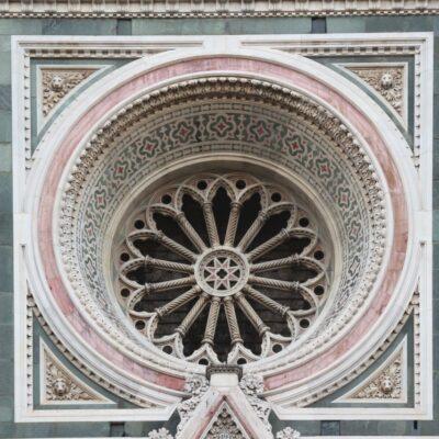 Rosone della Cattedrale di Santa Maria del Fiore, foto di Pasquale Campolo