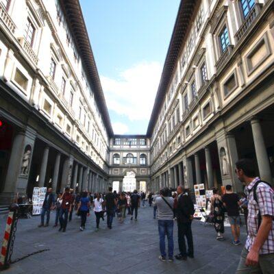 Galleria degli Uffizi, foto di Pasquale Campolo