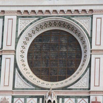 Rosone della Basilica di Santa Croce, foto di Pasquale Campolo