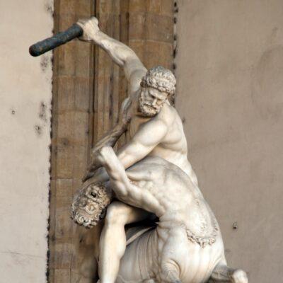 Ercole e Centauro, foto di Pasquale Campolo