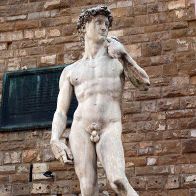 il David di Michelangelo, foto di Pasquale Campolo