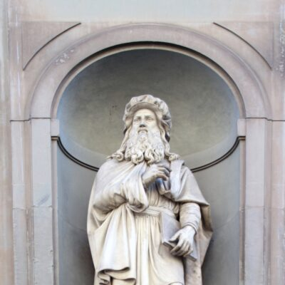 Leonardo da Vinci, foto di Pasquale Campolo