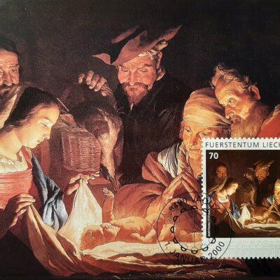 A00 - Natale 2000, Emissione l'Adorazione dei pastori, Matthias Stomer