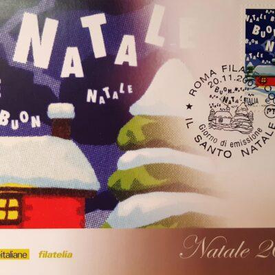D07 - Natale 2007, Cartolina con francobollo - Italia